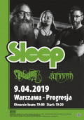 Sleep - znamy supporty!