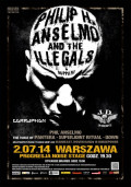 PHILIP H. ANSELMO & THE ILLEGALS / Corruption / J. D. Overdrive - Warszawa