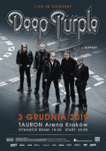 DEEP PURPLE + support / Kraków