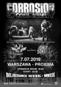 CORROSION OF CONFORMITY + J.D. Overdrive, Only Sons - Warszawa
