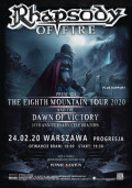 RHAPSODY OF FIRE + support - Warszawa