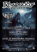 RHAPSODY OF FIRE + The United + Skeletoon - Warszawa